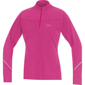 GORE RUNNING WEAR Essential Thermo Shirt Women raspberry rose/jazzy pink